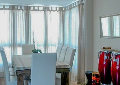 עיצוב מודרני וחלוקה מחדש בדירת שלושה חדרים
