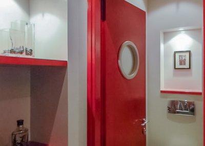 עיצוב מרכז רפואי בסגנון מודרני חם ברמת חן