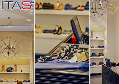 עיצוב חנות למעצבת האופנה חגית טסה בהוד השרון
