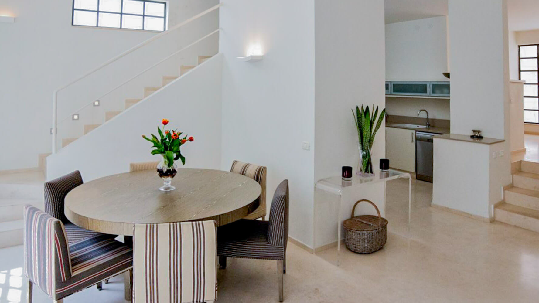 apartamento de vacaciones de estilo moderno