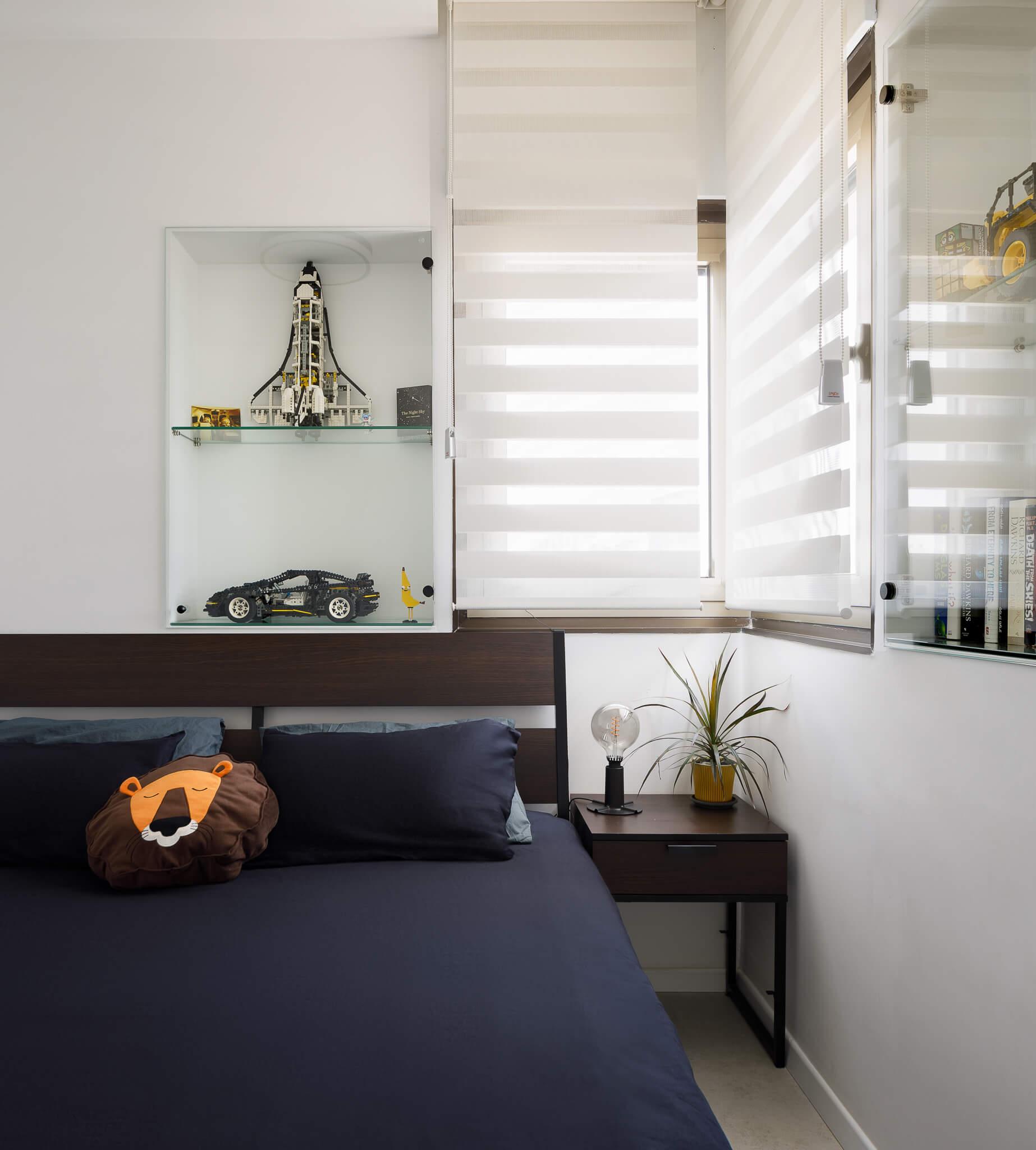 חדר השינה בדיזנגוף