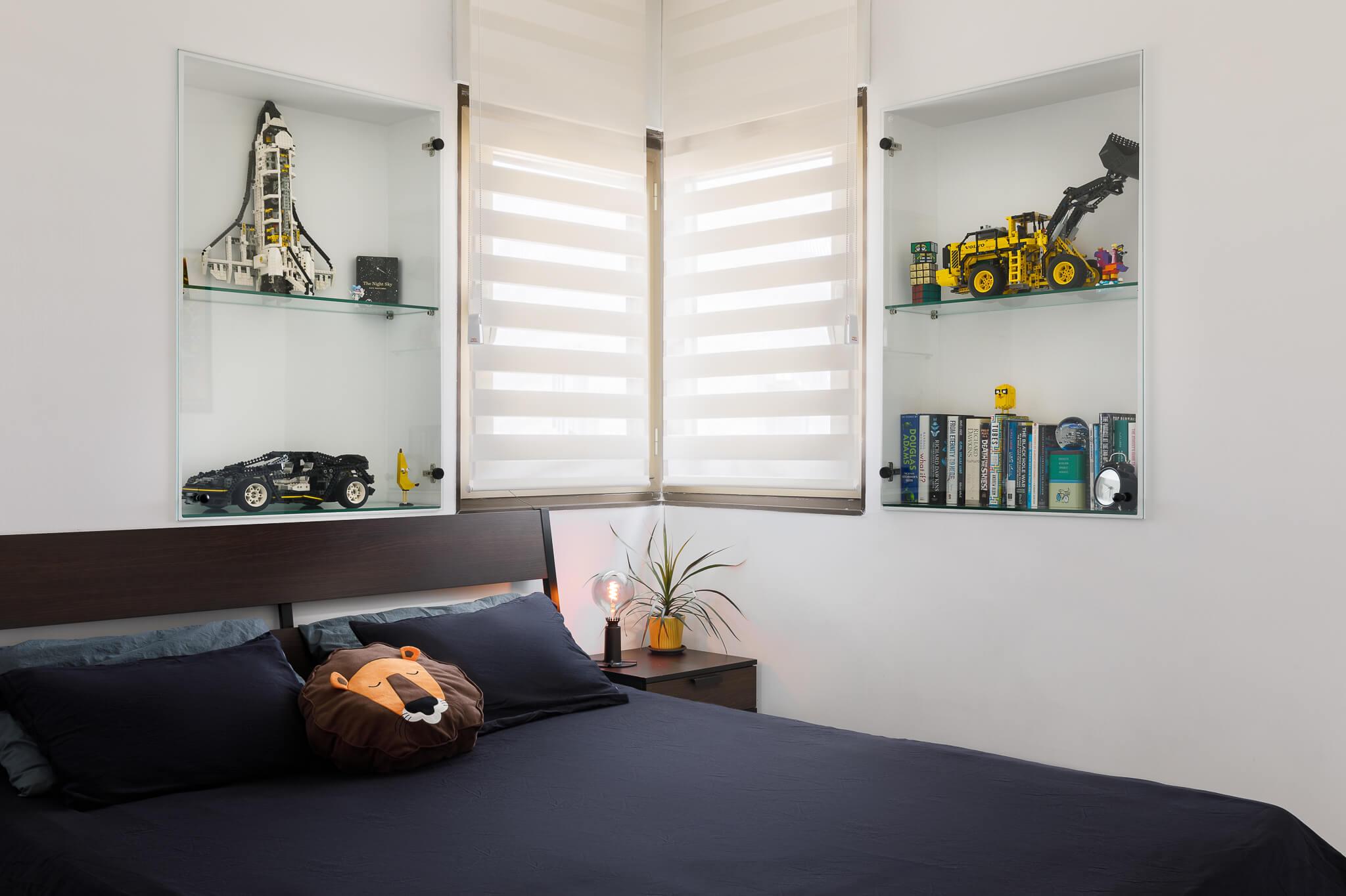חדר שינה בדיזנגוף